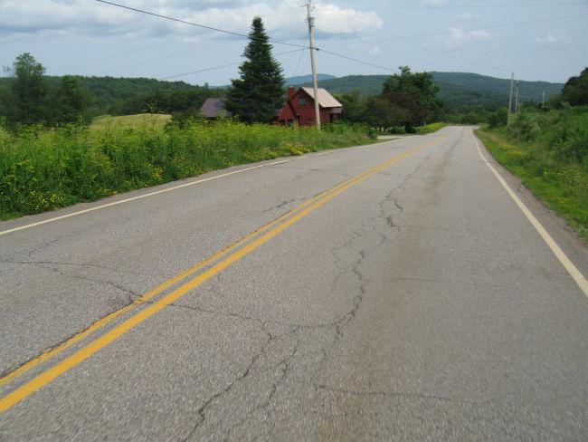 Farmhouse on the way to Middletown Sprgs