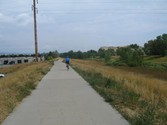 Dan Going N of the East Side of Boulder