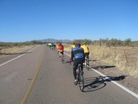 Vin starting on Arivaca Rd