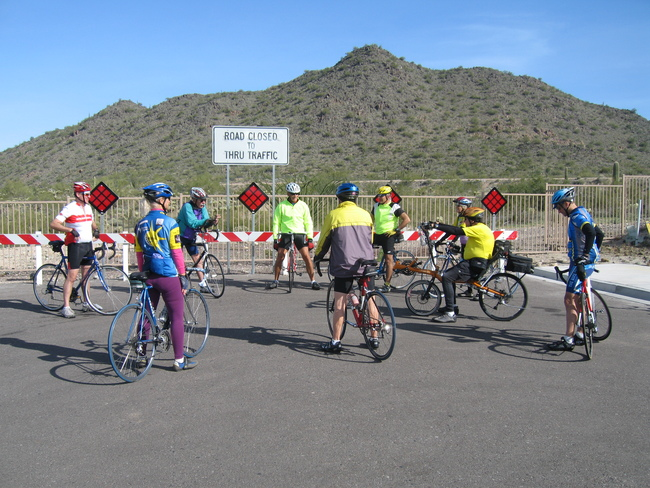 End of the Road North of Sun City