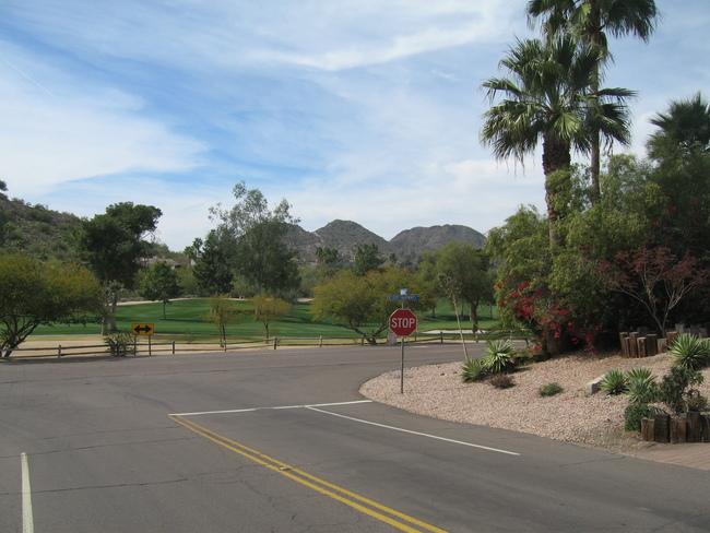 Golf course near Camelback