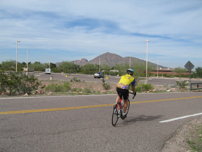End of the ride and our tour at Papago Park