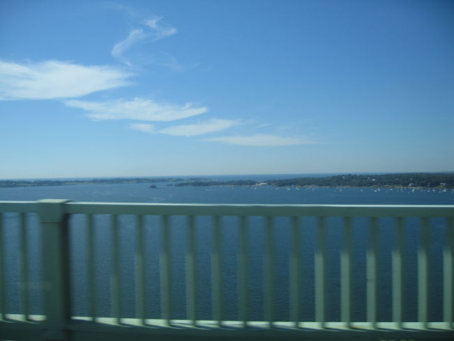 Looking South from the Newport Bridge