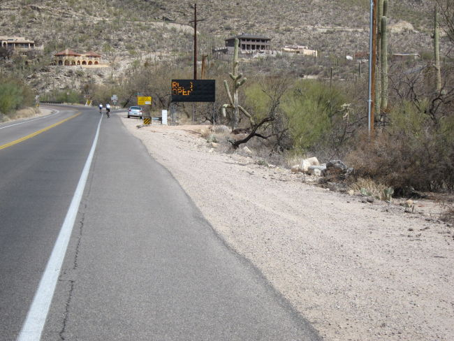 Catalina Hwy is Open