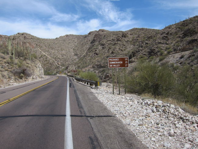 27 mi to the end of the public road