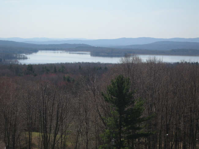 Western part of the Ashokan Res