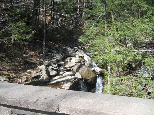 Platte Kill Creek runs underneath this bridge