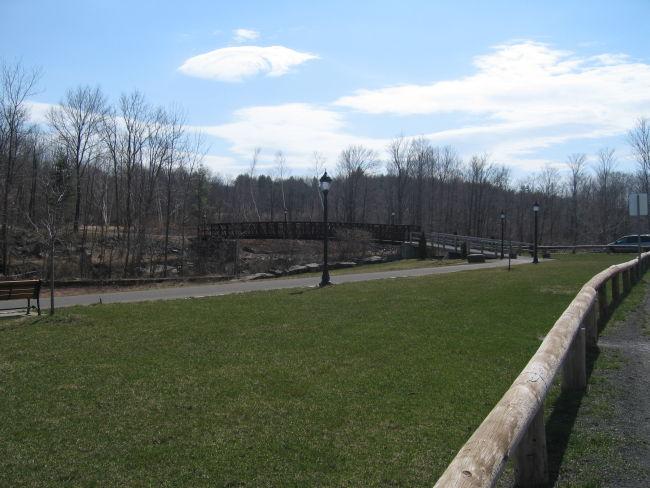 Park at the base of Hunter Mtn